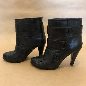 Miss Sixty Womens Black Ankle Boots